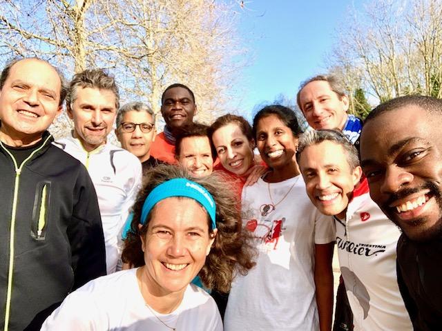 Séance de Sport de nature pour les collaborateurs de Atos International à Bezons