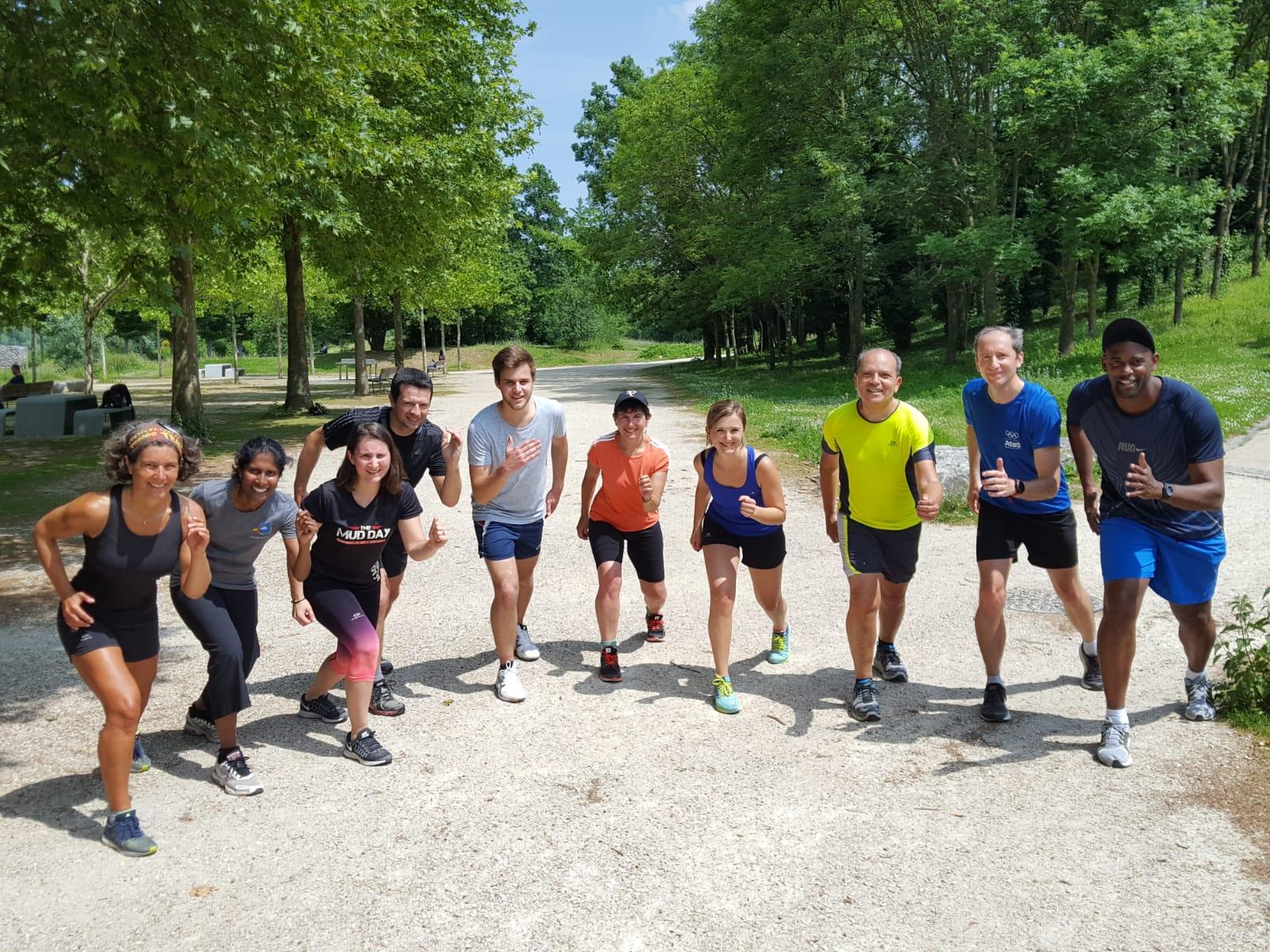 sport en entreprise Atos