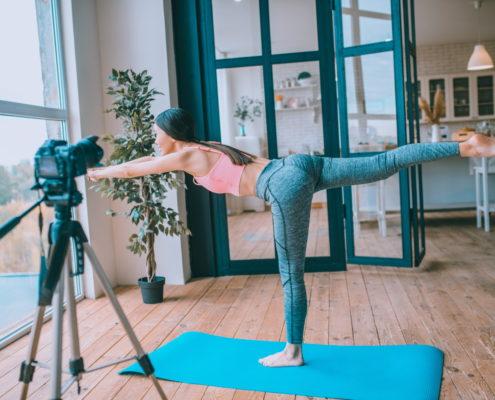 Séance N°5 de yoga solidaire sport management system